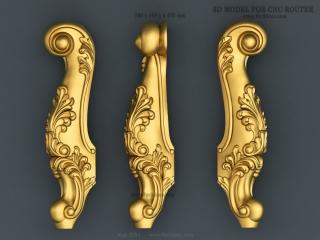 LEGS 264   STL – 3D model for CNC