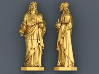 RELIGIOUS 013 | STL – 3D model for CNC