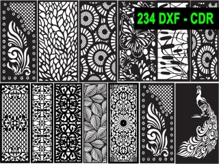 234 CNC Vector DXF – CDR  VOL 19