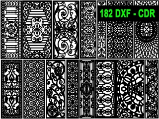 182 CNC Vector DXF – CDR  VOL 21