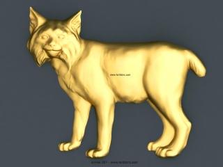 ANIMAL 027 | STL – 3D model for CNC