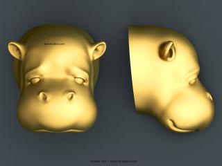 ANIMAL 031 | STL – 3D model for CNC