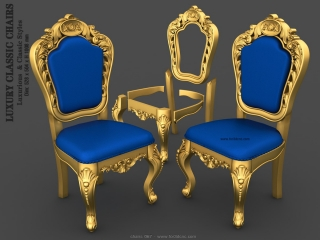 CHAIRS 067 | STL – 3D model for CNC