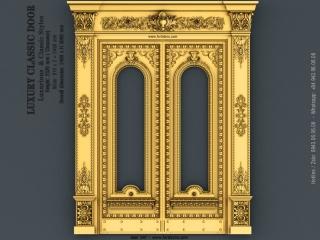 DOOR 047 | STL – 3D model for CNC