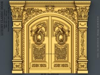 DOOR 050 | STL – 3D model for CNC