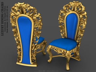 CHAIRS 068 | STL – 3D model for CNC