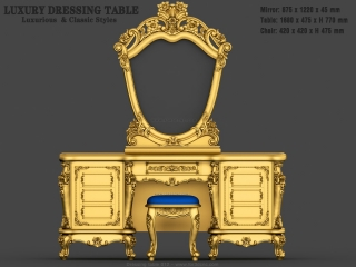 dressing table 012a www for3dcnc com 320x240 - CNC MODEL