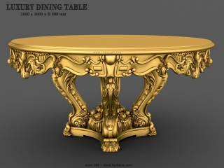 TABLE 068 | STL – 3D model for CNC
