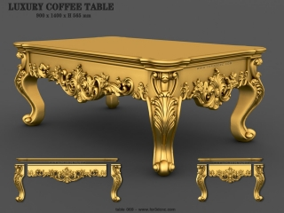 TABLE 069 | STL – 3D model for CNC