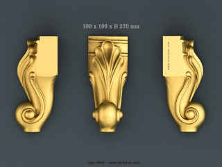 LEGS 0656 | STL – 3D model for CNC