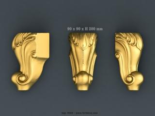 LEGS 0658 | STL – 3D model for CNC