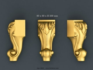 LEGS 0659 | STL – 3D model for CNC