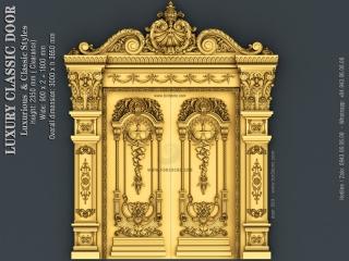 DOOR 053 | STL – 3D model for CNC