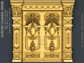 DOOR 055 | STL – 3D model for CNC