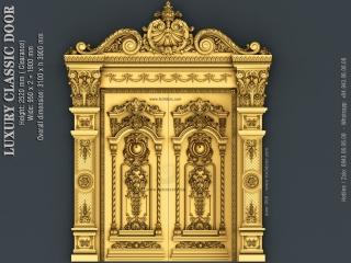 DOOR 056 | STL – 3D model for CNC
