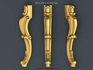 LEGS 0666 | STL – 3D model for CNC