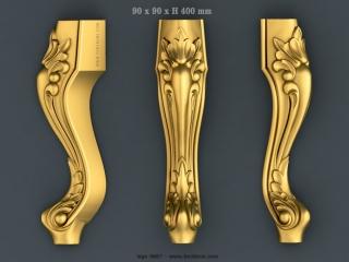 LEGS 0667 | STL – 3D model for CNC