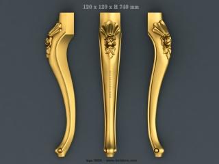 LEGS 0668 | STL – 3D model for CNC