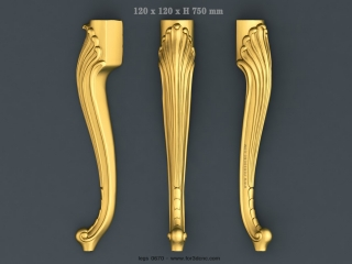 LEGS 0670 | STL – 3D model for CNC