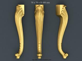 LEGS 0671 | STL – 3D model for CNC