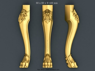 LEGS 0672 | STL – 3D model for CNC