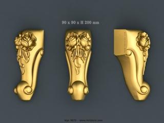 LEGS 0675 | STL – 3D model for CNC