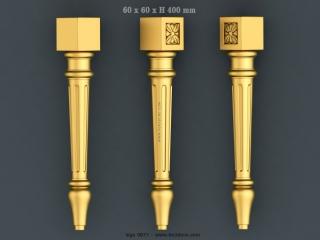 LEGS 0677 | STL – 3D model for CNC