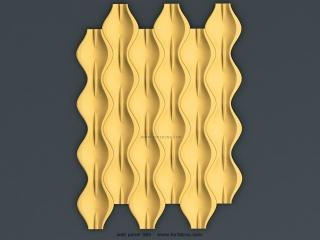 3D PANEL 085   STL – 3D model for CNC