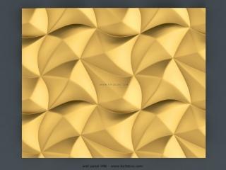 3D PANEL 096   STL – 3D model for CNC