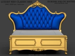 BED 0124 | STL – 3D model for CNC