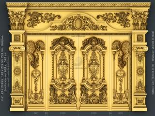 DOOR 060 | STL – 3D model for CNC