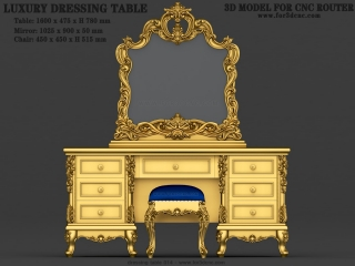 dressing table 014a www for3dcnc com 320x240 - CNC MODEL