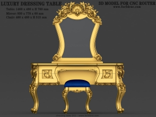 dressing table 015a www for3dcnc com 320x240 - CNC MODEL