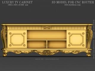 CABINET 032 | STL – 3D model for CNC