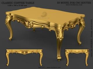 TABLE 077 | STL – 3D model for CNC