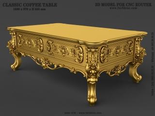 TABLE 078 | STL – 3D model for CNC