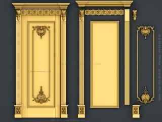DOOR 071 | STL – 3D model for CNC