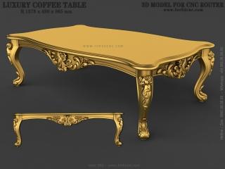 TABLE 083 | STL – 3D model for CNC