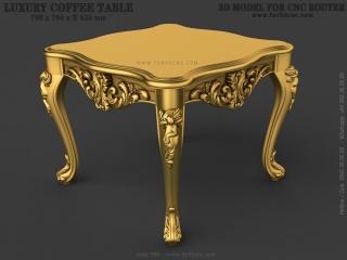 TABLE 084 | STL – 3D model for CNC