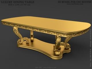 TABLE 088 | STL – 3D model for CNC