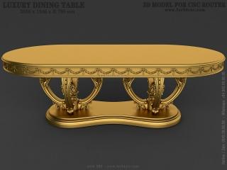TABLE 089 | STL – 3D model for CNC