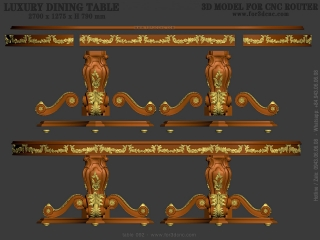 table 092a www for3dcnc com 320x240 - TABLE 092 | STL – 3D model for CNC